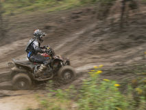 ATV Rennläufer Stockfoto