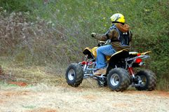 ATV Rider Stock Photography