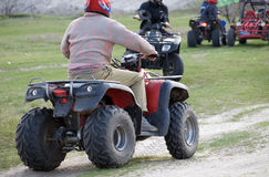 ATV Riders Stock Images