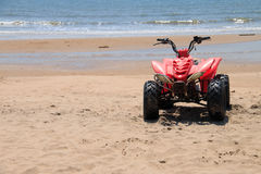 ATV rosso Immagini Stock Libere da Diritti