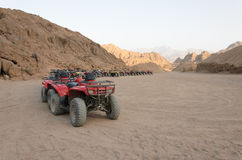 ATV safaris. Excursions in Egypt Royalty Free Stock Photos