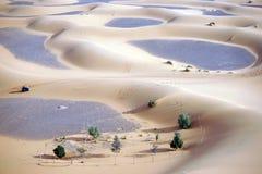 ATV in Sahara desert Royalty Free Stock Photos