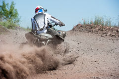 Atv Sport Action Race Offroad Stock Photo