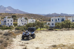 ATV tour on Naxos, Greece Royalty Free Stock Photography