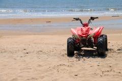 ATV vermelho Imagens de Stock Royalty Free