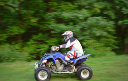 ATV-vierling van weg Stock Fotografie