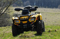 ATV vierlingfiets Royalty-vrije Stock Foto
