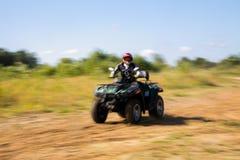 ATV w akci Fotografia Royalty Free