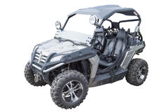ATV  on white Royalty Free Stock Photo