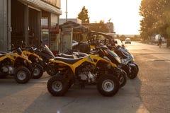 ATVs и багги в месте для стоянки Стоковое Фото
