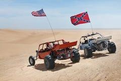 ATVs на пустыне Стоковые Изображения