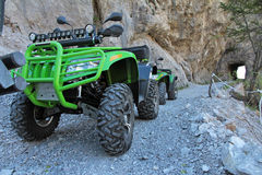 The ATVs Royalty Free Stock Photography