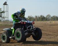 ATVs - offroad гонки Стоковые Фотографии RF