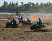 ATVs - offroad гонки Стоковое Фото