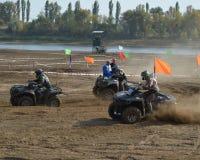ATVs - offroad гонки Стоковое Изображение
