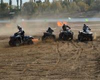 ATVs - offroad гонки Стоковые Изображения RF