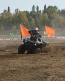 ATVs - offroad racing Stock Photography