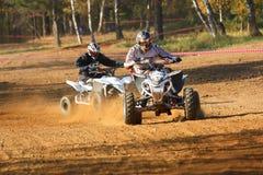 ATVs Rennen Lizenzfreies Stockfoto