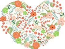 łatwy redaguje kwiatu serce Fotografia Stock