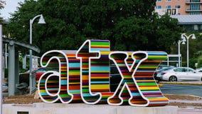 ATX Jawna Miastowa sztuka obraz stock