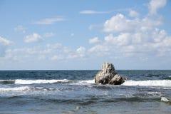 Atxabiribil beach Stock Image