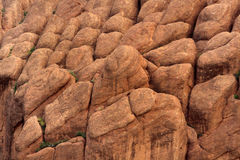 Atypical oval rock formations Stock Images
