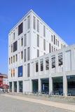 Außen-Hardenvoort-Campus in der Mitte von Antwerpen, Belgien lizenzfreie stockfotografie