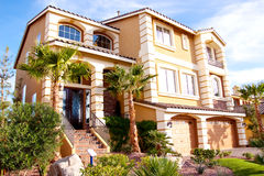 Außenansicht eines Hauses Lizenzfreie Stockfotografie