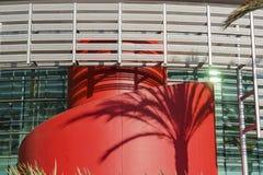 Außenansicht von Bonita Center für die Künste Stockbild