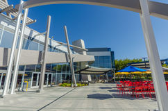 Außenansicht von Google-Büro Lizenzfreie Stockfotografie