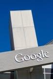 Außenansicht von Google-Büro Lizenzfreie Stockbilder