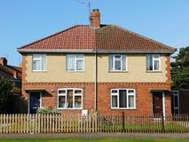 Außenansicht von Häusern Lizenzfreie Stockbilder