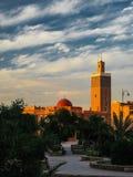 Außenansicht zu Moschee Masuda Wazzkaitih in Ouarzazate, Marokko Stockfotos