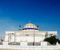 Außenansicht zu Nida-Moschee, Bagdad, der Irak Lizenzfreie Stockfotografie