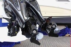 Außenbordmotoren lizenzfreie stockbilder