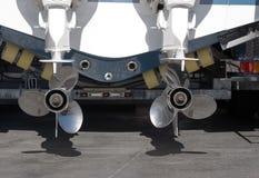 Außenbordmotoren Lizenzfreies Stockbild