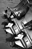 Außenbordmotoren Stockfotografie