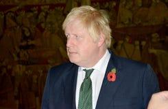 Außenminister Boris Johnson Briten im offiziellen Besuch nach Serbien Stockbilder