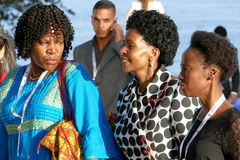 Außenminister von Südafrika Maite Emily Nkoana-Mashabane Stockbilder