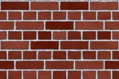 Außenwand des roten Ziegelsteines Lizenzfreie Stockfotos