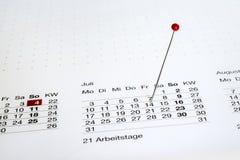 Außer dem Datum lizenzfreie stockfotos