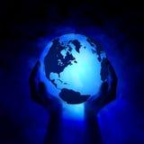 Außer der Erde Lizenzfreies Stockfoto