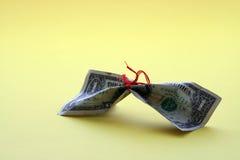 Außer Geld Stockfoto