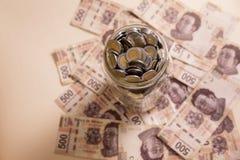 Außer Geld Stockbilder