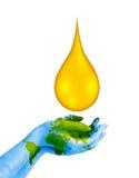 Außer Kraftstoff-Konzept lizenzfreie abbildung