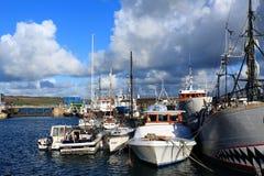 Außerhalb der Saison Boote Lizenzfreies Stockfoto
