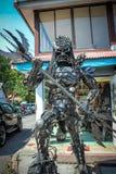 Außerordentliche Andenken von Koh Samui Metal Mann Lizenzfreies Stockbild