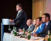 Außerordentlicher Kongreß der politischen Partei Lizenzfreies Stockbild