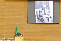 Au betaalt hulde aan ATO Meles Zenawi Royalty-vrije Stock Afbeelding