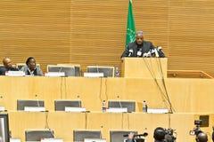 Au betaalt hulde aan ATO Meles Zenawi Royalty-vrije Stock Fotografie